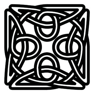 Thick Celtic Square